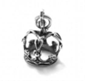 Crown Charm Sterling Silver