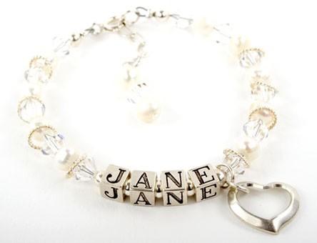 Jane Name Bracelet