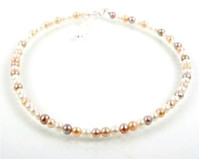 Freshwater Pearl Multi Coloured Necklace