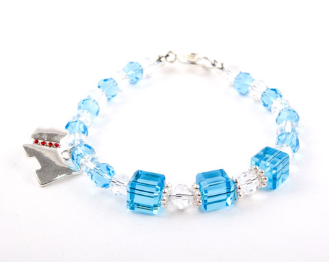 Crystal Scottie Dog Crystal Bracelet