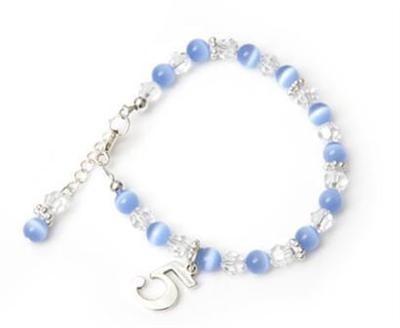 Candy Cats Eye Birthday Charm Bracelet